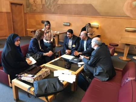 دیدار هیئت حقوق بشری ایران با رئیس کمیته حقوق کودک سازمان ملل
